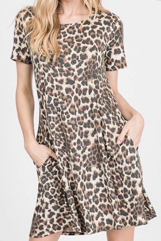 The Carol Animal Print Dress