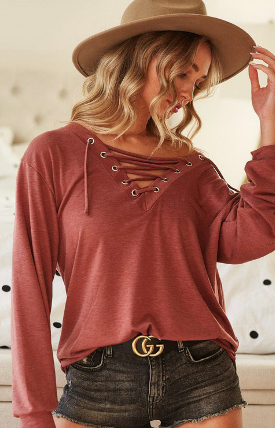 Love Struck Top (Available in 2 Colors)
