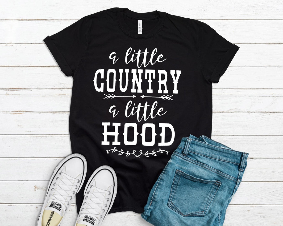 A Little Country a Little Hood Graphic Tee