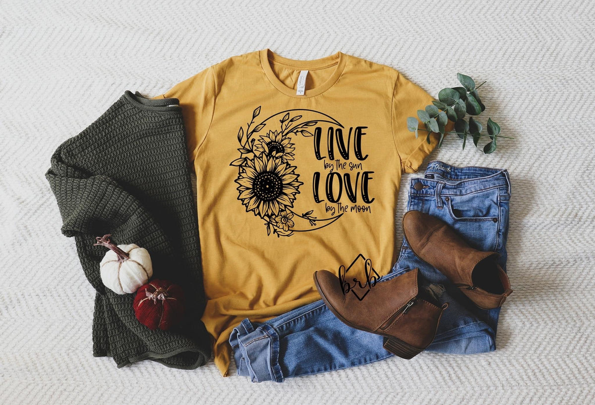 Live by the Sun Graphic Tee