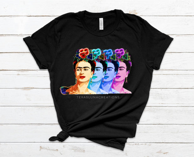 Multi Color Frida Graphic Tee