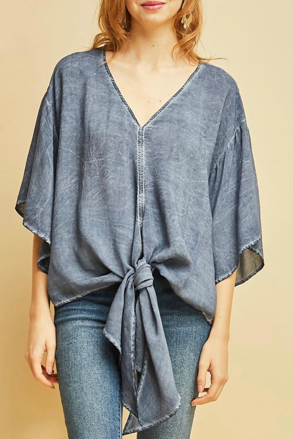 Fit to be Tied blouse