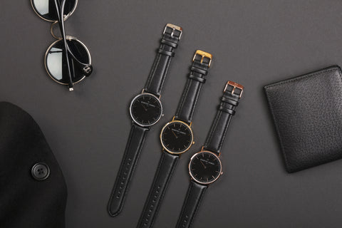 Shop Midnight Collection - Mens Harvey James Watches