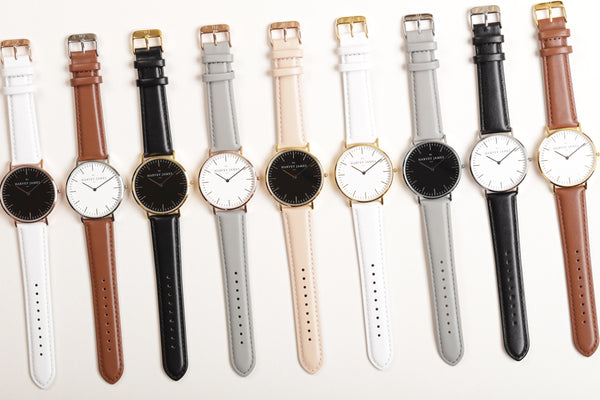 Harvey James Watches Line of Watches