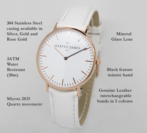 Harvey James Watches Features
