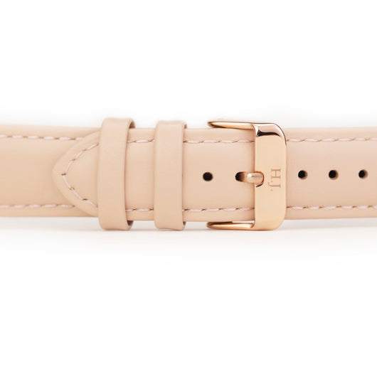 Harvey James Watches - Rose Gold | Blush Pink Leather Strap