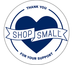 Thank You For Your Support - Shop Small