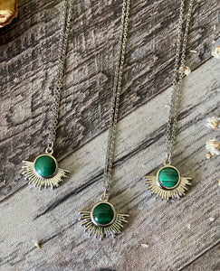 Malachite Necklaces