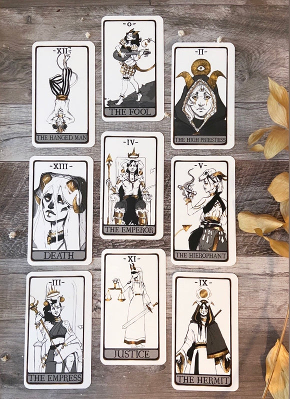 The Omens Tarot
