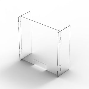 "32""H x 33.25""W x 10""D Retail Barrier (6mm thick HEAVY DUTY)"