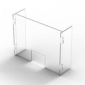 "32""H x 41.25""W x 10""D Retail Barrier (6mm thick HEAVY DUTY)"