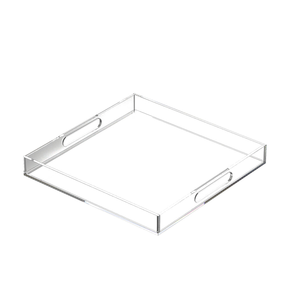 "Stalter  Serving Tray / Size: 2"" H X 16"" W X 16"" D"