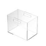 Clear Acrylic File Box