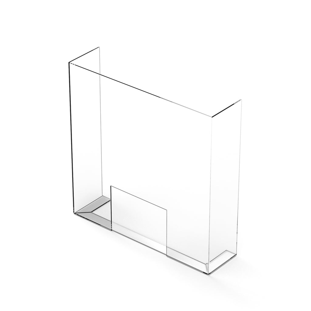 "29""H x 29""W x 7.5""D Retail Barrier (3mm thick STANDARD L- Fold)*"