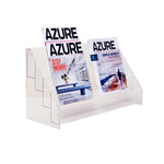 Acrylic Magazine Rack - Plastic Work Displays