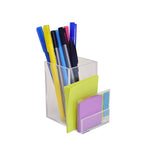 Two Compartment Desk Organizer - Plastic Work Displays