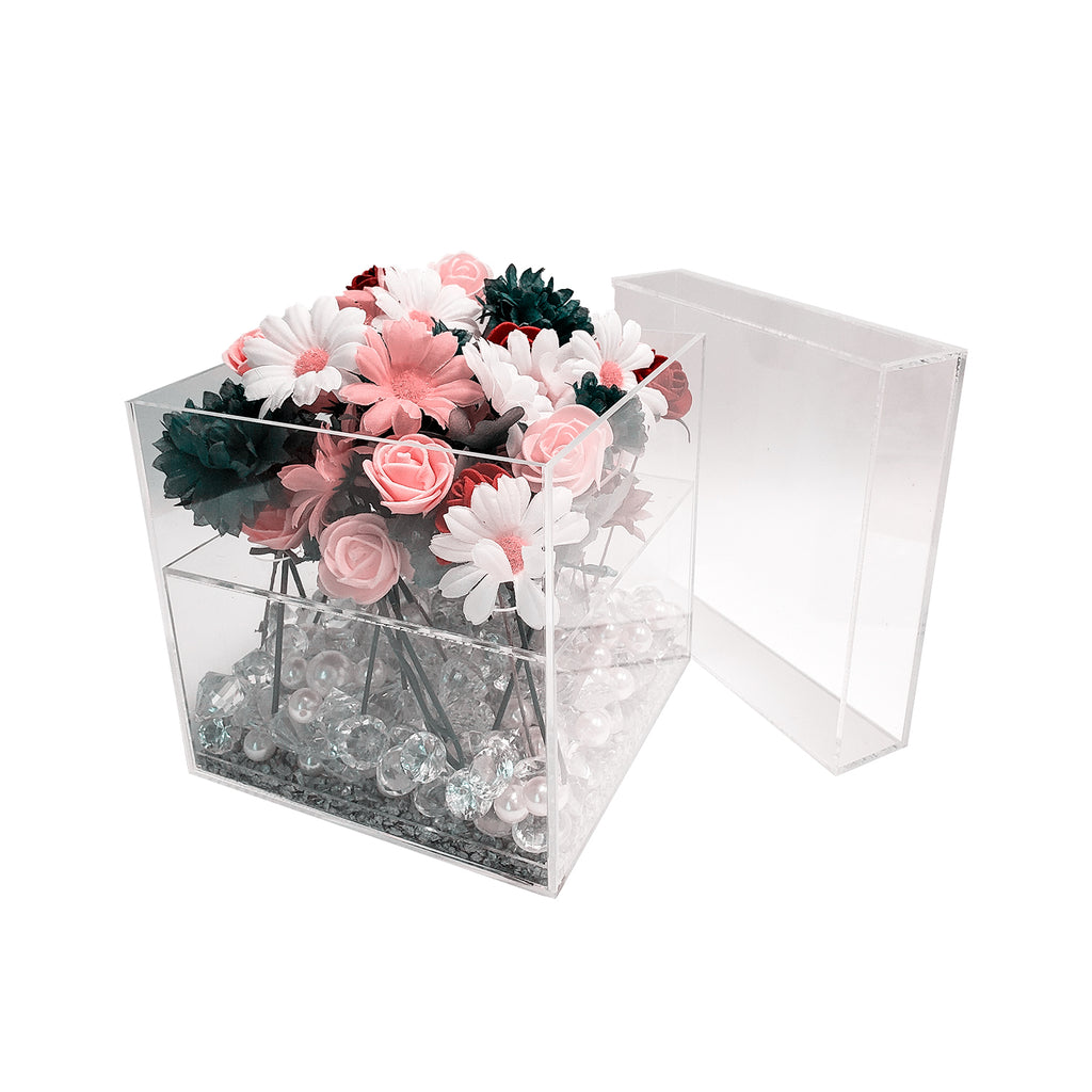 Transparent Gift Box - Plastic Work Displays