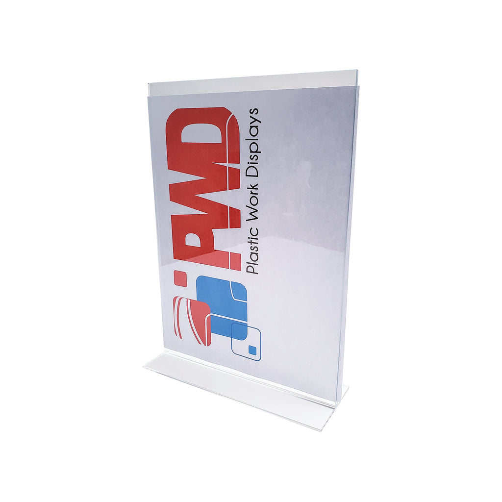 Acrylic Sign Holder - Plastic Work Displays