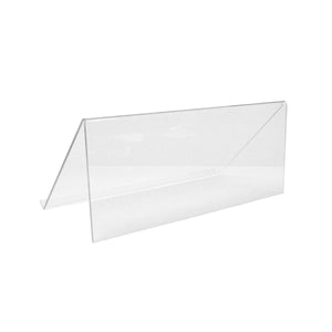 Acrylic Single Book Stand - Plastic Work Displays