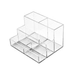 5-Compartment Desktop Organizer - Plastic Work Displays