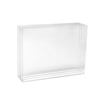 Acrylic Desktop File Box Sorter - Plastic Work Displays