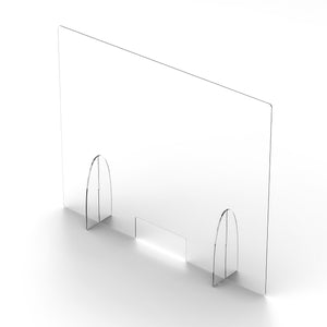 "32""H x 40""W x 6""D Retail Barrier (3mm thick lightweight STANDARD)"