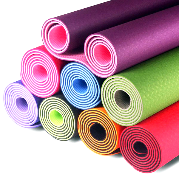 TPE Eco-Friendly Yoga Mat (Dual Colours)
