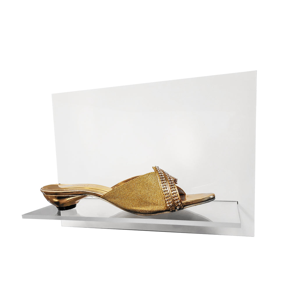 Wall-Mounted Shoe Display - Plastic Work Displays