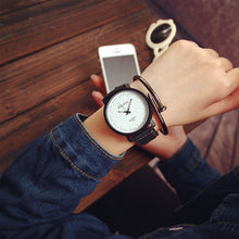 Mance Unisex Black White Analog Watch - Great Fashionable Vintage look Wristwatch - HOT Item - My VIP Super Store