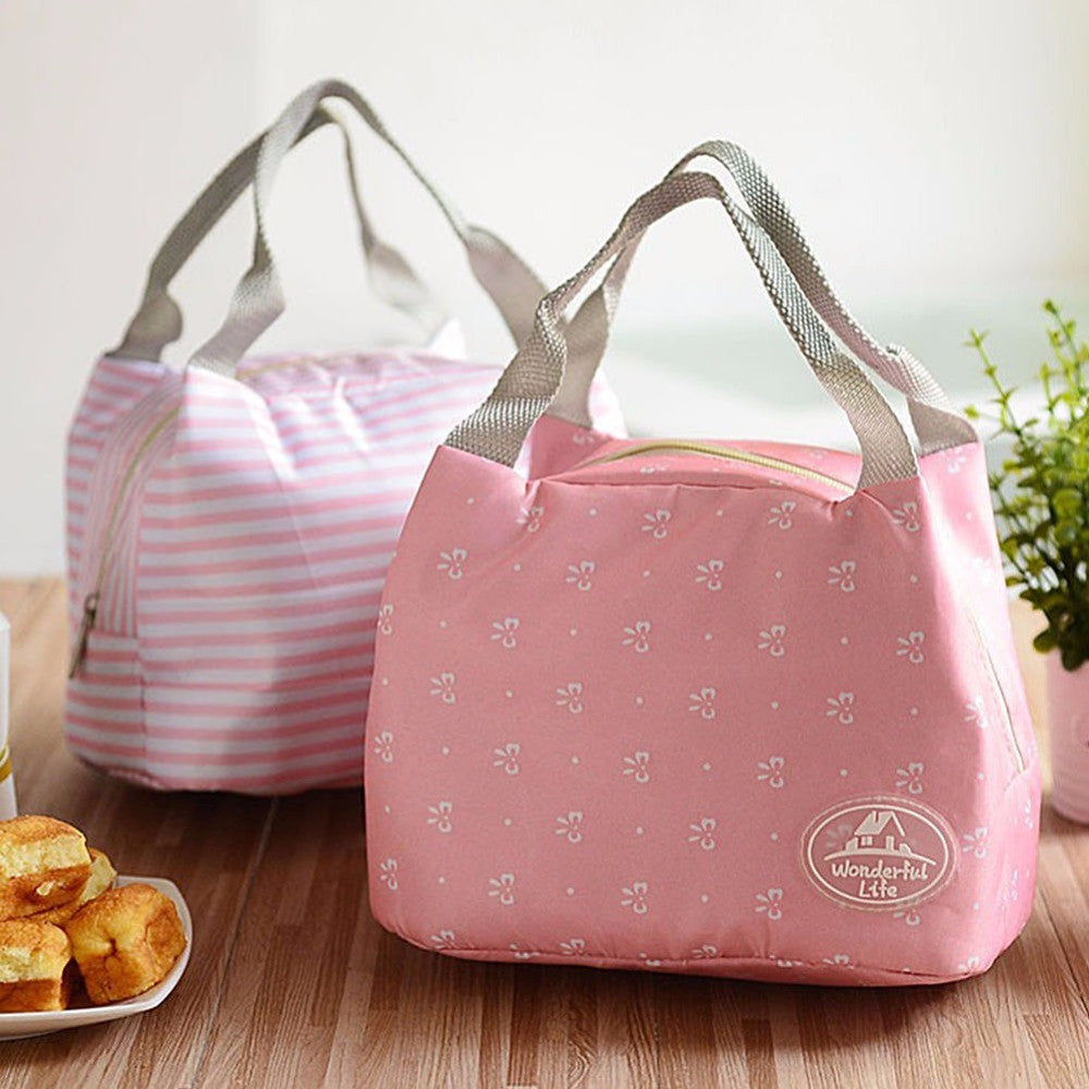 Folding Storage Bags With Insulation -  Use for Baby Bottle Organizer - Girls and Boys Lunch Box Bag - Work Lunch Box - My VIP Super Store