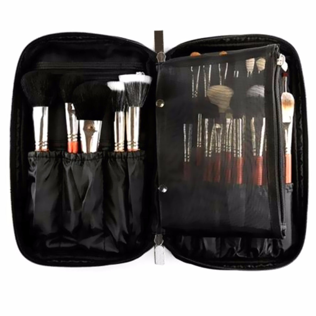 Ladies Make Up Brush Organizer Carry Case - Neat, Compact, Handy - My VIP Super Store