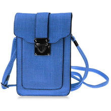 Ladies Universal Leather Look Cell Phone Pocket Purse - Dainty - In a Variety of Colours - My VIP Super Store