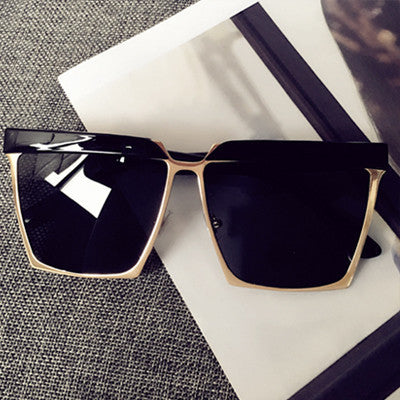 Ladies Women Big Square Frame Sunglasses - Unique Brand Design