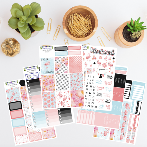 WK34 - Stand Tall Stand Out Weekly Planner Sticker Kit