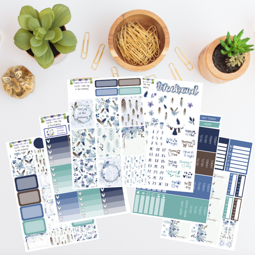 WK33 - Find Joy In The Ordinary Weekly Planner Sticker Kit