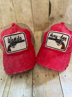 Maryann and Wanda Hats