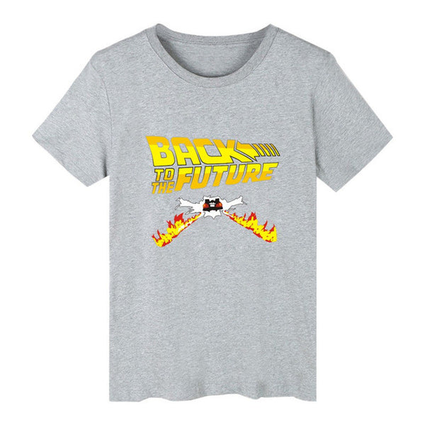 Back To The Future Flame T-Shirt