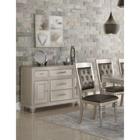 Full Of Elegance Wooden sideboard Silver BM171382