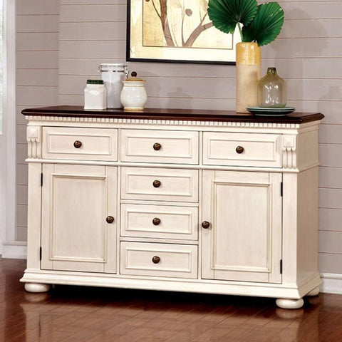 white_dining_sideboard_cherry_wood_accents_benzara_sabrina_BM137966