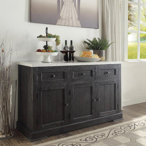 black-sideboard-with-white-marble-top-sideboard-benzara-BM163021