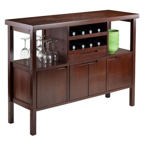 unique sideboards brown sideboard with wine storage