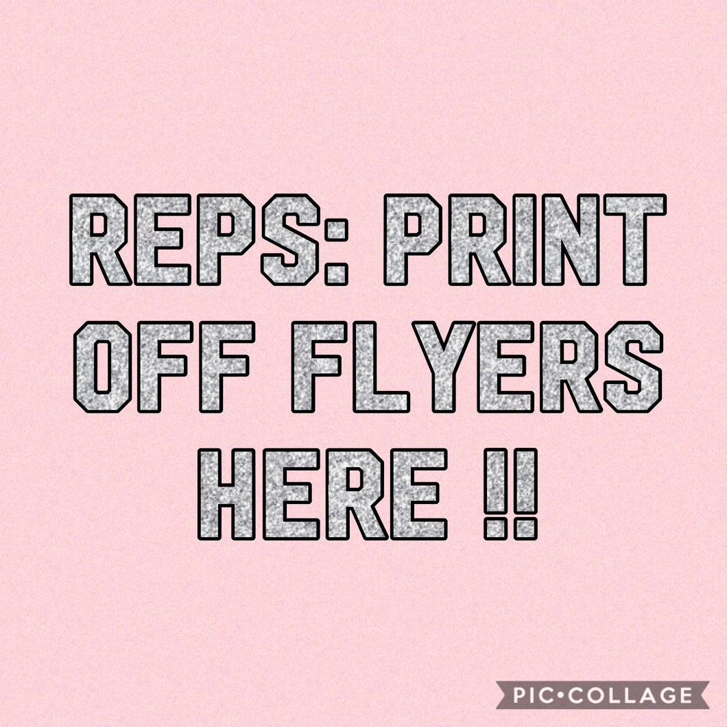 Rep Flyers