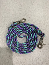 Purple, Mint, & Gray Reins