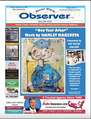 We're on the cover of the Riverview Observer!