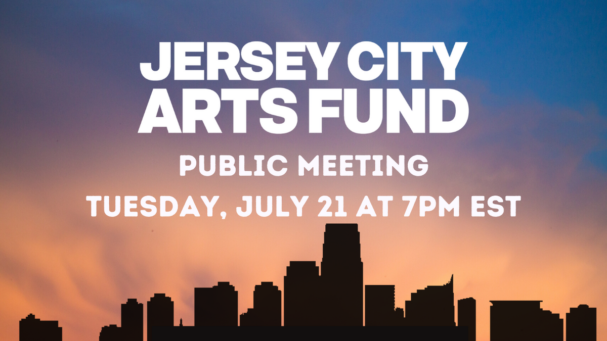 Public Meeting: Jersey City Arts Fund Referendum