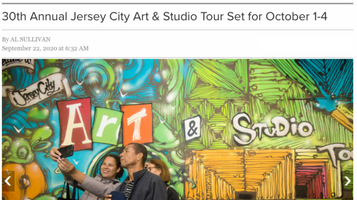 30th Annual Jersey City Art & Studio Tour Set for October 1-4