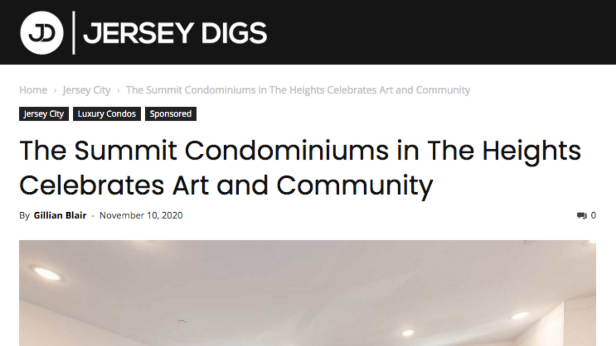 The Summit Condominiums in The Heights Celebrates Art and Community