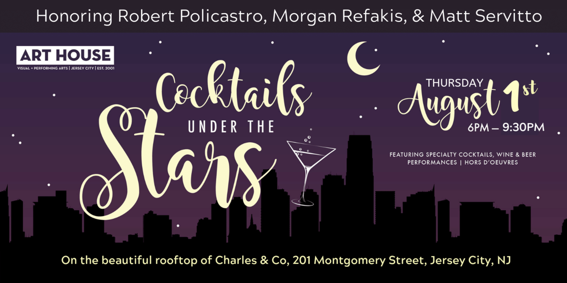 Art House Productions To Honor Matt Servitto at Cocktails Under The Stars