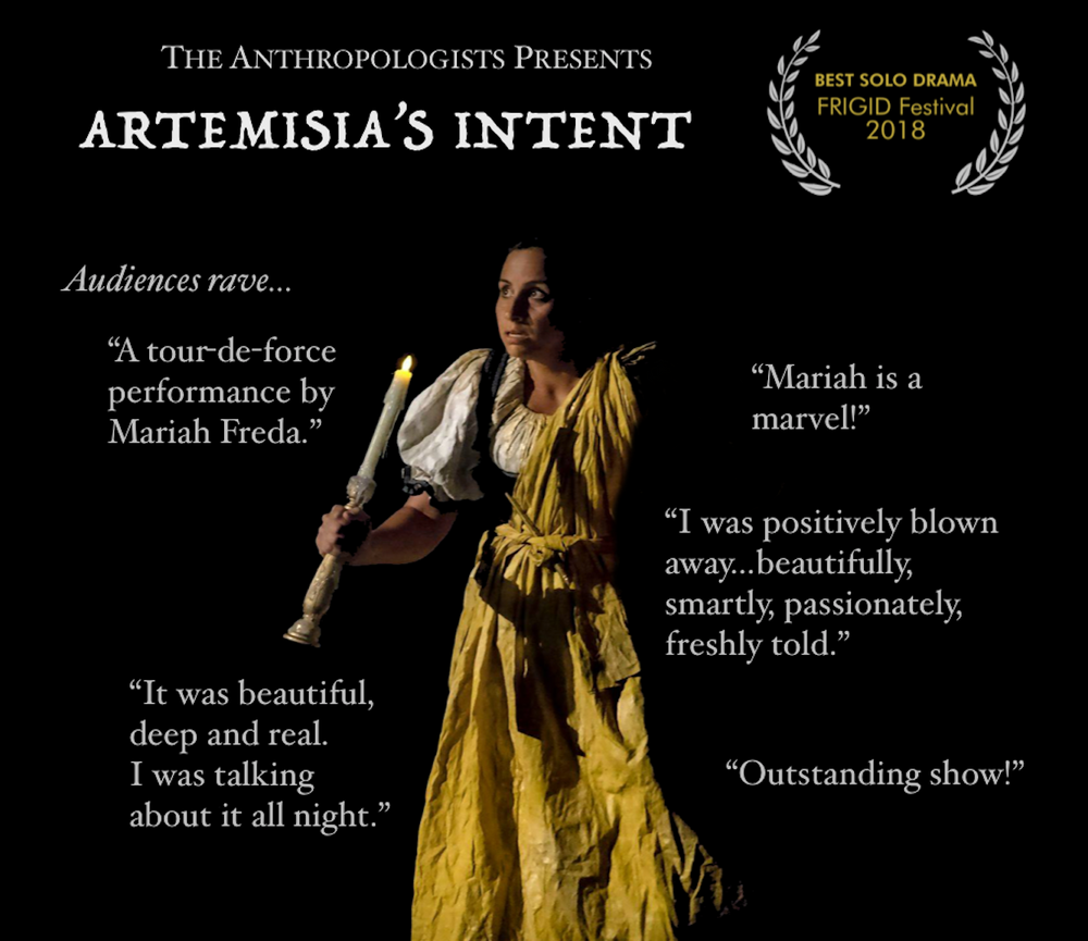 Artemisia's Intent--October 18 and 19, 2019