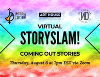 Virtual Story Slam - Thursday, August 6 at 7pm EST